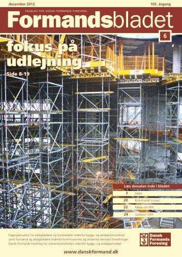 Se PDF KLIK HER - Dansk Formands Forening