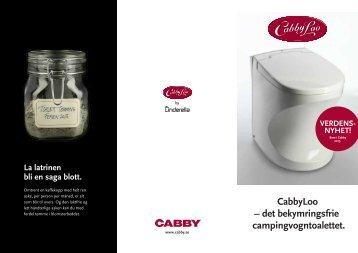 CabbyLoo - Cabby Caravan AB