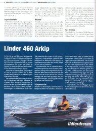 Både Linder 460 ARKIP Bådmagasinet 01/10/2004 - havnens ...