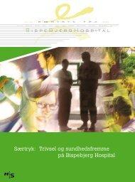 Særtryk om trivsel 2006 - Bispebjerg Hospital