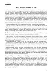 Mixité, non-mixité et pluralité des sexes », Conférences de ...