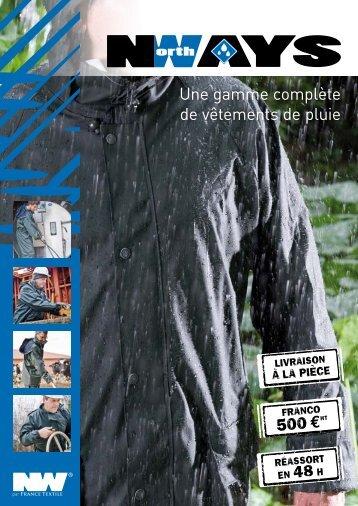 Une gamme complète de vêtements de pluie - France Textile