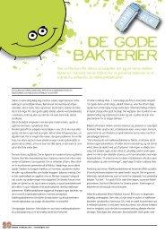 De gode bakterier - Elbo
