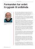 Ordblindebladet nr. 2/2011 - Ordblinde/Dysleksiforeningen i Danmark - Page 4