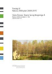 Forslag til Natura 2000-plan 2009-2015 Store ... - Naturstyrelsen