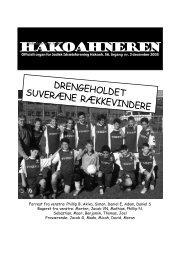 Hakoahneren nr.3 december 2005
