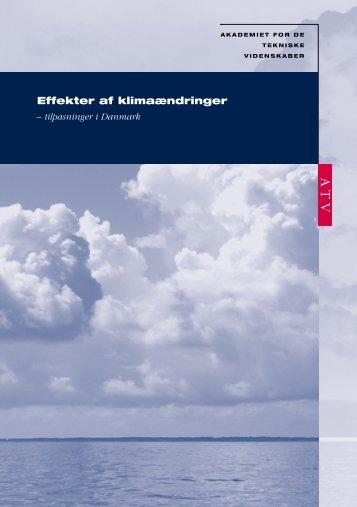 Effekter af klimaændringer - tilpasninger i Danmark