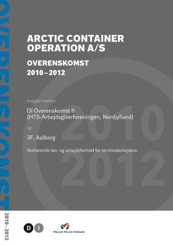 ARCTIC CONTAINER OPERATION A/S - DI