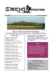 side 1- Forsiden - Drejø