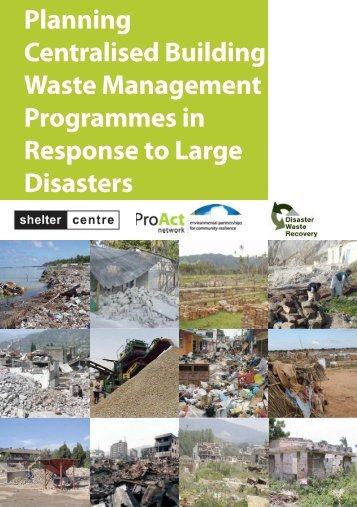 Planning Centralised Building Waste Management Programmes in ...