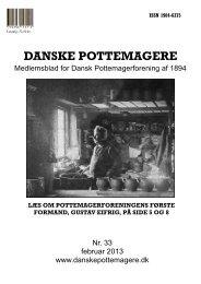 2013 - Medlemsblad nr. 33 - Pottemagere   Keramiker