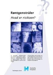radiologisk afsnit.indd - Gentofte Hospital