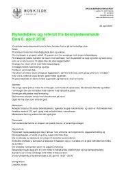 Nyhedsbrev og referat fra bestyrelsesmøde Den 6. april 2010