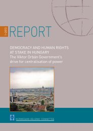 Democracy and human rights at stake in Hungary - Hungarian ...