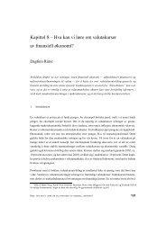 Kapittel 8 - Hva kan vi lære om valutakurser av ... - Norges Bank