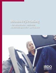 Momsvejledning for højskoler, efterskoler ... - FFD.dk