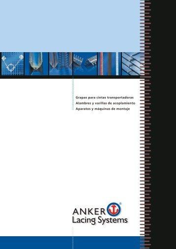Grapas para cintas transportadoras ANKER - ANKER-FLEXCO Gmbh