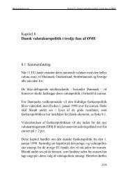 Kapitel 8 Dansk valutapolitik i tredje fase af ØMU