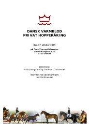 dansk varmblod privat hoppekåring - Avlsinspirasjon.no