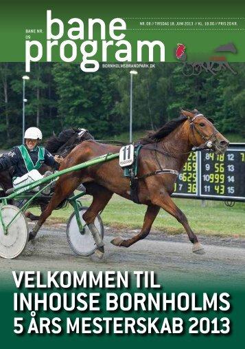 Baneprogram for 18. juni 2013 - Bornholms Brand Park
