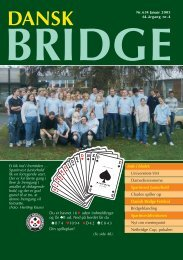 Inde i bladet: Sparinvest Juniorhold Sparinvestdivisionen ...