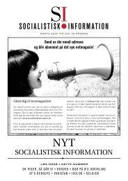 SI nr. 226 - Socialistisk Information