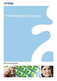Fremlæggelse af budget - KAB