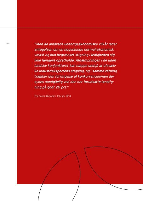 Europæiske rammer for dansk økonomisk politik - De Økonomiske ...