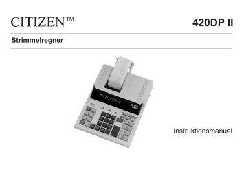 420DP II