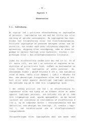 - 77 - Kapitel 5 Observation 5.1. Indledning. Et vigtigt led i ... - Krim
