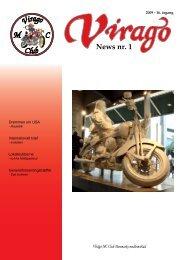 News nr. 1 - Virago MC Tur Klub