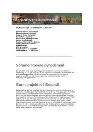 14. årgang - uge 18 - onsdag den 1. maj 2013 Sommerstævne ...