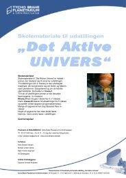 Det Aktive Univers - Tycho Brahe Planetarium