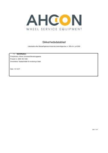 AHCON Universal monteringspasta - Flex1one