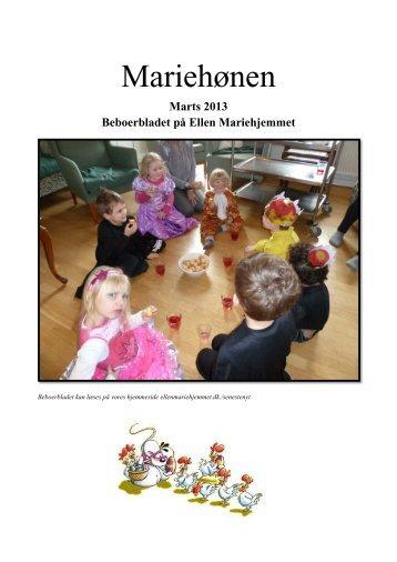 Beboerblad marts 2013 - Mariehjemmene