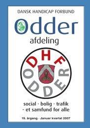 Medlemsbladet Januar Kvartal - DHF ODDER / Dansk Handicap ...