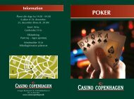 Pokerguide - Casino Copenhagen