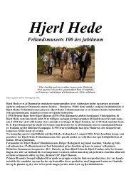 Hjerl Hede - Per Brunsgård fra Tim ved Ringkøbing DK