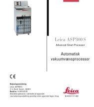 Leica ASP300 S - Leica Biosystems