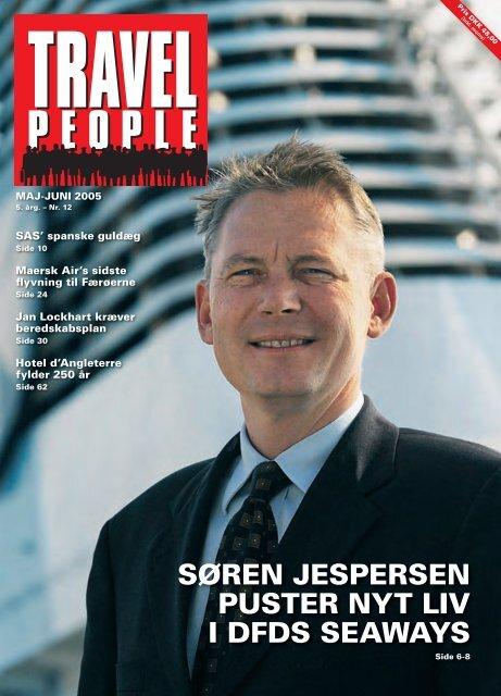 søren jespersen puster nyt liv i dfds seaways - Travel People