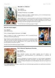 Skolepakke+ Uge 13-15, Beskrivelser - Biblioteksmedier as
