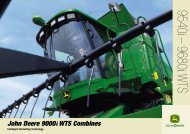 John Deere 9540 / 9680 Combine - Used Cotton Pickers