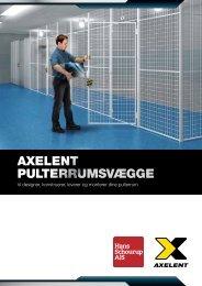 Pulterrum - Axelent gittervægge - Hans Schourup A/S
