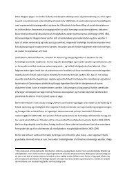 Modernitetens blindgyder? - sociologisk-notesblok