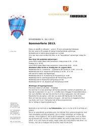 sommerferiebrev til forældre og elever juli 2013.pdf - fjordskolen ...