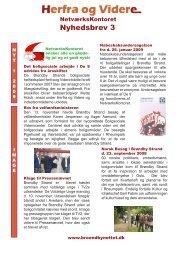 Nyhedsbrev 3 - Brøndby Strand