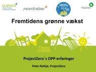 ProjectZero v. Peter Rathje - Fremtidens Grønne Vækst