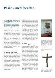 Påske - med facetter af Palle Højland - Kirken Underviser