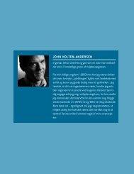 JOHN HOLTEN-ANDERSEN - Modvækst