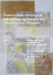 Læs publikationen Innovation, strategisk udvikling og kreativitet her